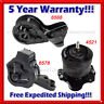 K300 Fit 1995-1997 Honda Accord 2.7L Engine Motor & Transmission Mount Set 3PCS
