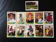 1993 Horse Racing Jockey Star Cards - 1-20 Issued at Del Mar Racetrack
