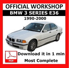 >> OFFICIAL WORKSHOP Manual Service Repair BMW Series 3 E36 1990 - 2000