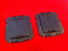LOT 3 pcs Foxconn Intel LGA1366 1366 CPU Socket Protector Cover- BLACK- ORIGINAL