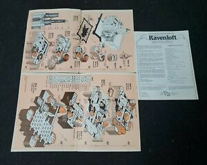 AD&D Module I6 - Ravenloft - Dungeons and Dragons - TSR 9075 - Very Good