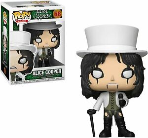 Funko POP!: Rocks Alice Cooper Collectible Figure, Multicolor #68 30206 NEW!!