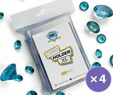 More details for 200 rigid card holders saver xl semi trading clear plastic  ccg psa cgc bgs