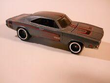 Hot Wheels - 1/64 - 1969 Dodge Charger Hemi - RR's Tires - Gray/Tampo's - VVHTF