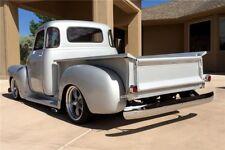 47-50 Chevy 5 Window Truck Gray Tinted Tempered Glass 5-PC Kit Back Door Corner