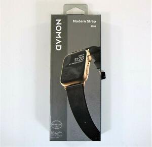 Nomad Modern Strap (Slim) for Apple Watch 40mm/38mm Black Horween Leather