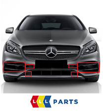 NEW GENUINE MERCEDES BENZ MB A45 CLASS 2015- W176 AMG FRONT BUMPER GRILL SET