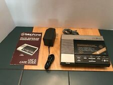 Vintage General Electric Model 2-9880 Answering Machine w/ Manual