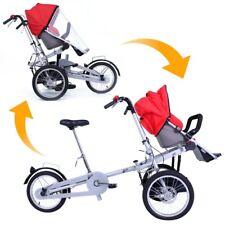 Carrito Bebé bicicleta transformable en varios colores Riscko
