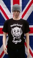 "Iconic Motorhead ""England"" Heavy Metal Rock T-Shirt (Adult Large)"