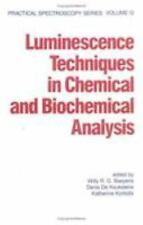 Luminescence Techniques in Chemical and Biochemical Analysis (Practical
