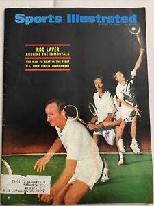 August 26 1968 ~ Sports Illustrated Magazine ~ Rod Laver - Joe Namath