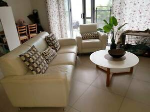 Freedom 3 seater & single sofa   coffee table bundle