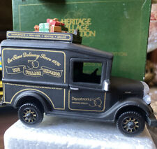 Department 56 Christmas In the City�1994 Village Express Van�Rare, Retired!
