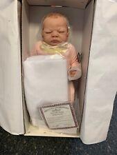 Linda Webb Künstlerpuppe Vinyl Puppe 55 cm. Ovp & Zertifikat. Top Zustand