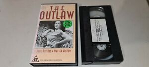 The Outlaw Vhs Video Jane Russel Walter Huston 1943
