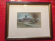 Special Edition Worcester Cathedral From Fort Royal Hill By Christopher Hughes