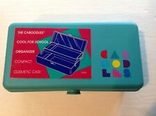 Vintage CABOODLES #2605 Mini Travel Cosmetic Jewelry Organizer