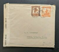 1944 Mozambique Censored Cover to Lisbon Portugal