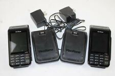 New listing 2 VeriFone Vx690 Wireless card scanners & 2 Vx690-Bbt chargers