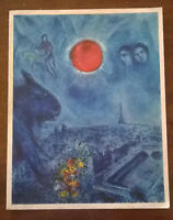 MARC CHAGALL PEINTURES RECENTES 1967 - 1977 SIGNED Musee Du Louvre