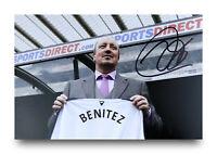 Rafa Benitez Signed 6x4 Photo Newcastle United Manager Genuine Autograph + COA