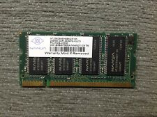 MEMORIA RAM NADYA NT256D64SH8BAGM 256MB DDR-333MHz-CL2.5