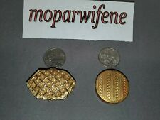 New ListingLot of 2 vintage compacts, unmarked solid perfume and small rouge kissproof