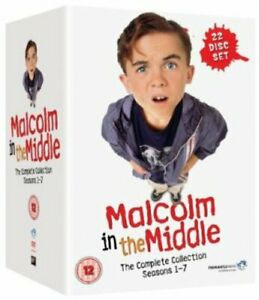 MALCOLM IN THE MIDDLE COMPLETE SERIES COLLECTION 1-7 DVD BOX SET 22 DISC NEW