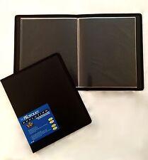 Itoya Evolution Portfolio book bound album, photos up to 8.5x11, black