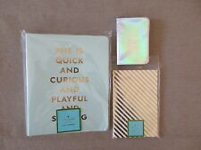 New Lot of 3 Kate Spade Journals, Spiral Notebook, Mini....LOVELY!