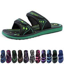 Heavy Duty Double Adjustable Straps Outdoor Water Slide Sandals for Women Men