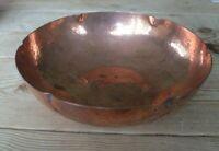 Hand beaten vintage LRI Borrowdale copper dish