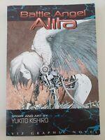 BATTLE ANGEL ALITA Vol 1 RUSTY ANGEL GRAPHIC NOVEL VIZ MANGA YUKITO KISHIRO RARE