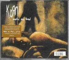Korn Make Me Bad Limited Edition Numbered (0186) CD Single