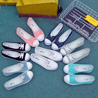 UK Summer Women's Ladies Canvas Shoes Pumps Slip On Flat Lace Up Loafers