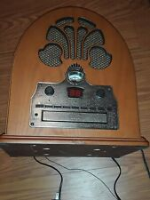 Crosley CR32CD Cathedral Retro Vintage Table Top  AM/FM Radio and CD Player