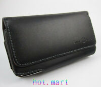 Genuine Leather holster Belt clip Case Cover for Samsung Galaxy Note 5 4 3