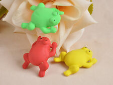 STO Cartoon Stationery Colorful Animal Fog Toy Rubber Eraser Kids Gifts