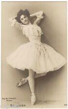 Original Postcard Russian Ballet Vera Mosolova