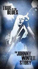 JOHNNY WINTER - TRUE TO THE BLUES: THE JOHNNY WINTER STORY 4 CD NEUF