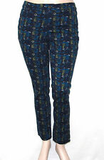 NWT Style & Co. Skinny Leg Diamond Geo Print Jeans MULTI/14P