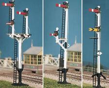 Ratio 476 LMS Round Post Signal (4 Signals Jcn/bracket) Kit OO Gauge