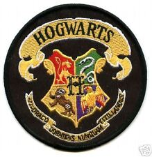 BRITISH HARRY POTTER PATCH HOGWARTS SCHOOL CREST PATCH