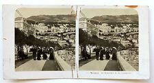 Monaco Monte Carlo Stéréo Neue Photographische Gesellschaft A.G. Vintage 1904