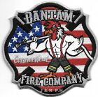 "Bantam  Fire Company, CT  (4.5"" x 4.5"" size) fire patch"