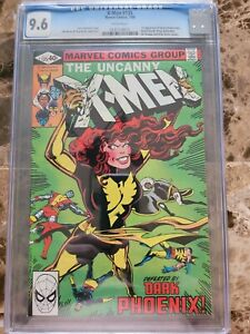 X-Men #135 CGC 9.6 WHITE PAGES 1st Appearance of Senator Robert Kelly