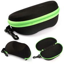 Portable Carabiner Eye Glasses Sunglasses Hard Case Protector Box Holder трымаль