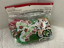 Creatology Christmas Craft Merry Christmas Mixed Foam Stickers New In Package