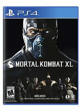 Mortal Kombat XL (Sony PlayStation 4, 2016) BRAND NEW